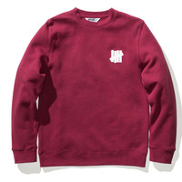 Undefeated Chest Strike Crew In Dark Red