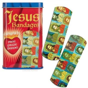 Save Me Jesus Band-Aid Adhesive Bandages
