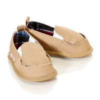 Boy Canvas Loafer 0 12m 399494232 | Layette Accessories | Baby Boy | Layette | Clothing | Burlington Coat Factory