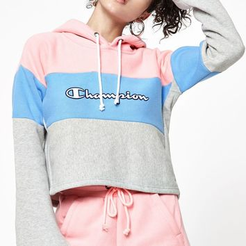 Champion Reverse Weave Cropped Hoodie at PacSun.com