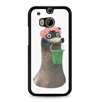 Gerald Finding Dory Flower Crown HTC M8 Case