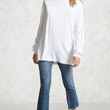 Extra-Long Sleeve Tee - Women - 2000091348 - Forever 21 Canada English