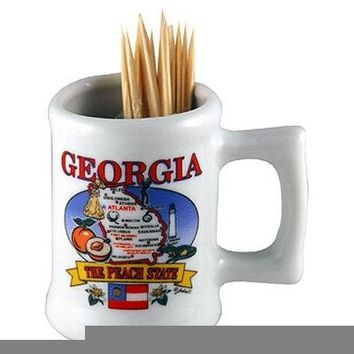 georgia toothpick holder (toothpicks not included) Case of 96