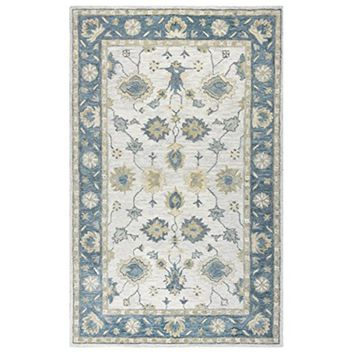 LO9984 Leone Hand-Tufted Area Rug, 10' x 14', Natural By Rizzy Home