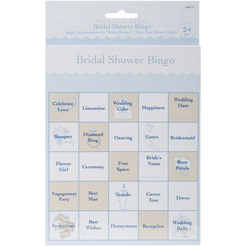 Victoria Lynn Bingo Game Cards 24/Pkg-Bridal Shower
