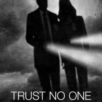 """X-Files The Poster Black and White Poster 16""""x24"""""""