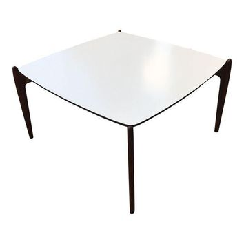 Vintage Mid-Century Modern Square Coffee Table