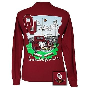 Oklahoma Sooners Tailgates & Touchdowns Party Long Sleeve T-Shirt