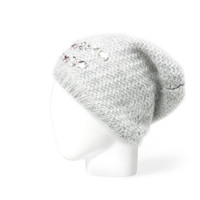 MOHAIR BEANIE WITH JEWEL EMBELLISHMENTS - Accessories - Accessories - Woman - ZARA United States