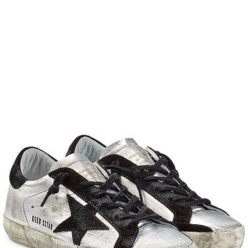 Golden Goose - Super Star Leather Sneakers