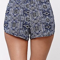 LA Hearts Crepe On Jogger Shorts at PacSun.com