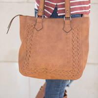 Send A Little Love Purse Brown