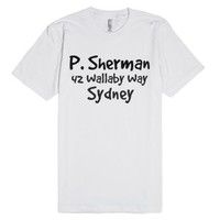 P. Sherman 42 Wallaby Way, Sydney - Finding Nemo-White T-Shirt