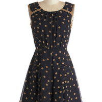 ModCloth Mid-length Sleeveless A-line Tea Taster Dress