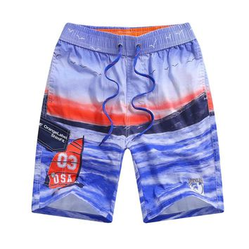 Summer Holiday Quick Dry Board Shorts Surf Boardshorts With Pocket For Men And Boys Crossfit Swimming Water Sport And Pool Party