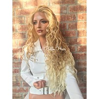 """Light Blonde Waves 26"""" Lace Front Wig"""