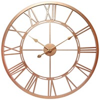 Infinity Instruments Champagne Luxe; a 28-in Rose Gold Wall Clock | Overstock.com Shopping - The Best Deals on Clocks