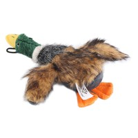 2018 Classic Dog Toys Stuffed Squeaking Duck Dog Toy Plush Puppy Honking Duck for Dogs pet chew squeaker squeaky toy