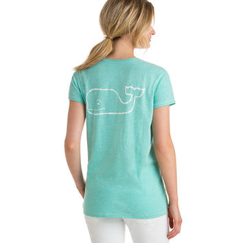 Tri Blend Relaxed Vintage Whale Pocket Tee