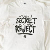 5sos reject lyric t-shirt
