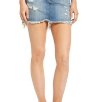 One Teaspoon 2020 Denim Miniskirt (Johnnie Blue) | Nordstrom