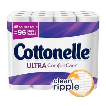 Cottonelle Comfort Care Toilet Paper - 48 Double Rolls