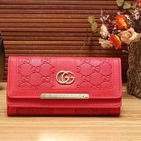 Perfect Gucci Women Fashion Leather Shopping Wallet Purse
