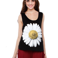 Papaya Clothing Online :: COSMOS GRAPHIC SLEEVELESS TOP