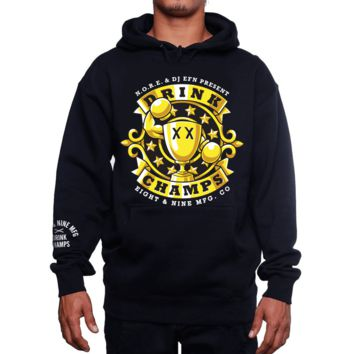 OG Drink Champs Black Hooded Sweatshirt