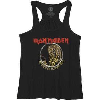 Iron Maiden Women's  Killers '81 Womens Tank Black