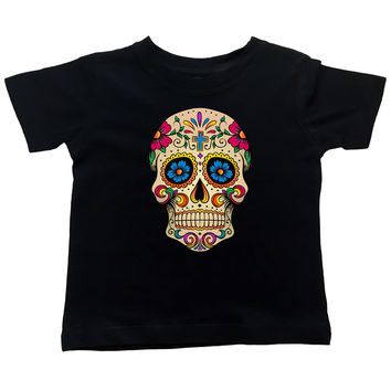 Cross Sugar Skull - T Shirt