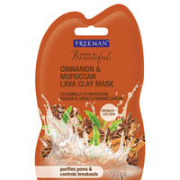 Cinnamon & Moroccan Lava Clay Mask Travel Size :: Freeman Beauty