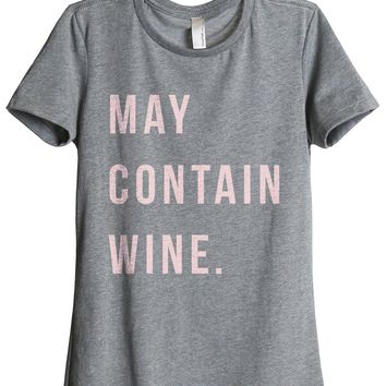 May Contain Wine