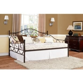 Victoria Bronze Metal Full Daybed