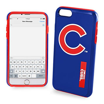 MLB Chicago Cubs IPhone 6 Dual Hybrid Case (2 Piece), Blue