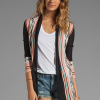 Twelfth Street By Cynthia Vincent Log Cabin Cardi in Black/Multi from REVOLVEclothing.com
