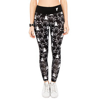 Stacked Cats Athletic Legging