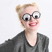Funny Googly Eyes Goggles Shaking Eyes Party Glasses and Toys Prop