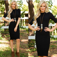 Winona Dress in Black