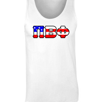 Pi Beta Phi American Flag Tank Top