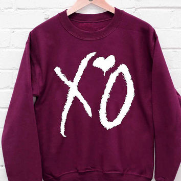 The Weeknd sweatshirt cozy sweater for mens and womens heppy fit or sizing.