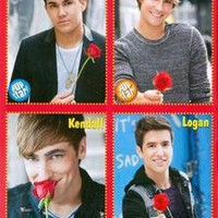 CARLOS PENA - JAMES MASLOW - KENDALL SCHMIDT - LOGAN HENDERSON - BIG TIME RUSH