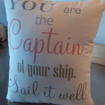Graduation gifts, pillow, gift for her, bedroom decor, cotton throw pillow, motivational cushion, daughter gift, minimalist birthday gifts