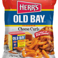 Herr's Products - Old Bay Cheese Curls