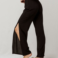 IVY & MAIN Side Slit Womens Pants
