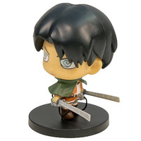 New Products - AFG - Attack On Titan Rivaille Figure 2.5"