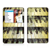 The Vintage Pianos Keys Skin For The Apple iPod Classic