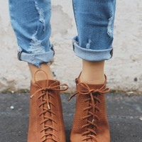 WILDLY DEVOTED BOOTIES - WHISKEY