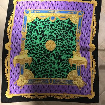 Vintage Gianni Versace 60 Inch Scarf