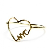 Brandy ♥ Melville |  NYC Love Ring - Just In
